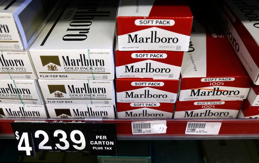 Cigarettes Marlboro pack cost UK