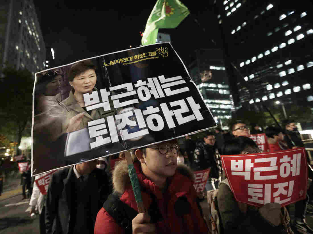 South Korean President Agrees To Be Questioned In Scandal Probe Politics
