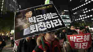 Her Job At Risk, S. Korea President Reshuffles Cabinet As Scandal Widens