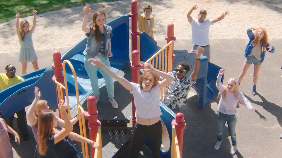 """Dancers in a scene from Foxygen's new video for the song """"Follow The Leader."""" (Courtesy of the artist)"""