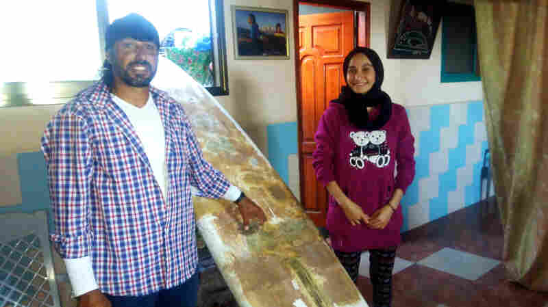 Gaza's Surfer Girl Hangs Up Her Board — And Not By Choice