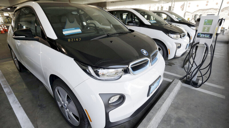 Administration Gives Electric Car Charging Grid A Boost The Two