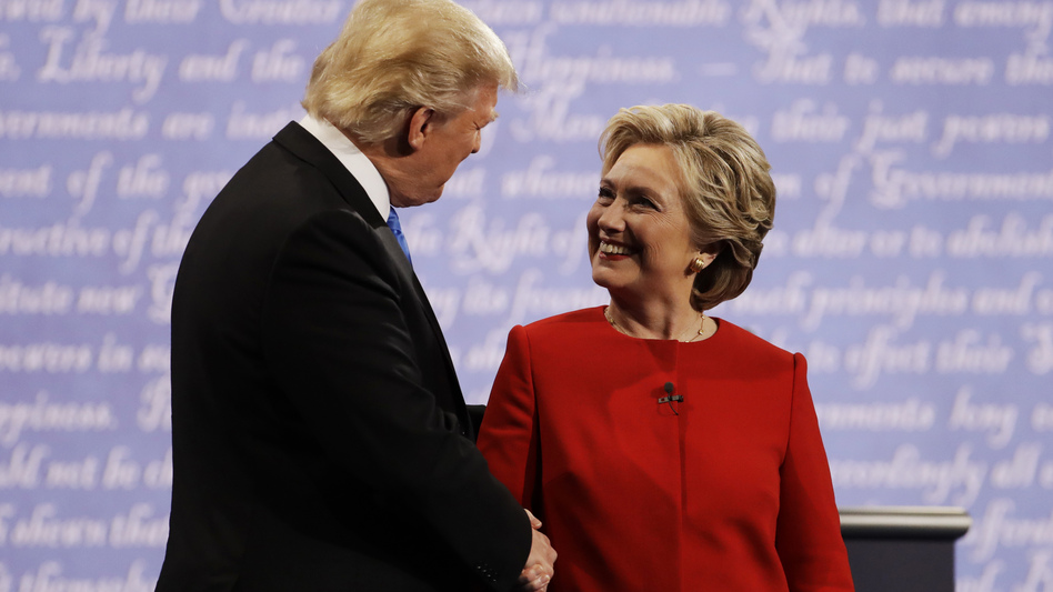When Hillary Clinton appeared to be winning the Sept. 26 debate with Donald Trump at Hofstra University, stock futures rose and so did oil prices, a report says.