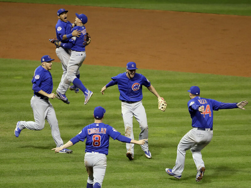9260a9fc04b Chicago Cubs Defeat Cleveland Indians In 10 Innings To Win World Series