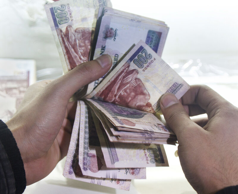 Egypt Floats Its Currency Paving Way For An International Bailout