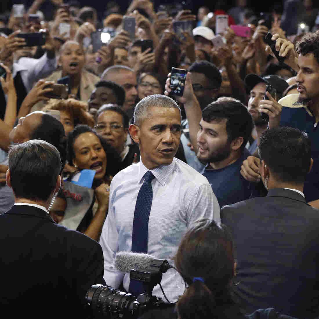 Obama Tries To Bridge A 'Black Enthusiasm Gap' In Florida