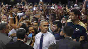 Obama Tries To Bridge A 'Black Enthusiasm Gap' In Florida