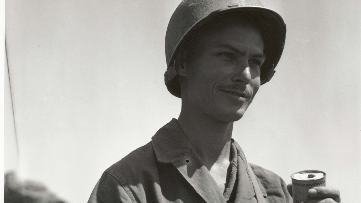 The Real Hacksaw Ridge Soldier Saved 75 Souls Without Ever Carrying A Gun Npr
