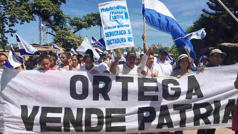 Nicaragua's Ortega Headed For Re-Election — With His Wife As VP