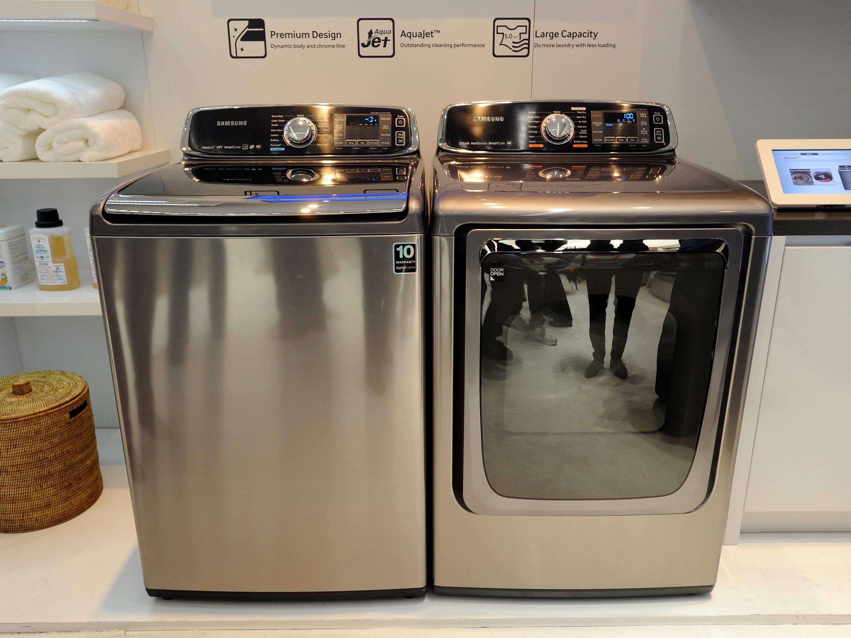 Samsung Recalls 2 8 Million Top Load Washing Machines