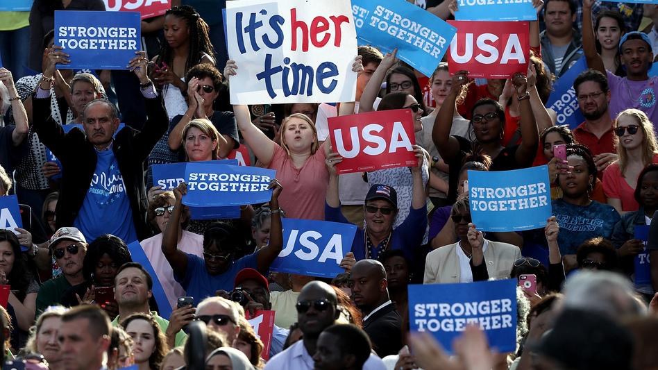 Here's Why Hillary Clinton's Troubles Aren't Millennials' Fault | WBUR News