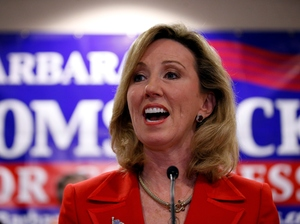 Rep. Barbara Comstock, R-Va., is in a tight race for reelection. This race could say a lot about whether moderate Republicans can distinguish themselves from Donald Trump.