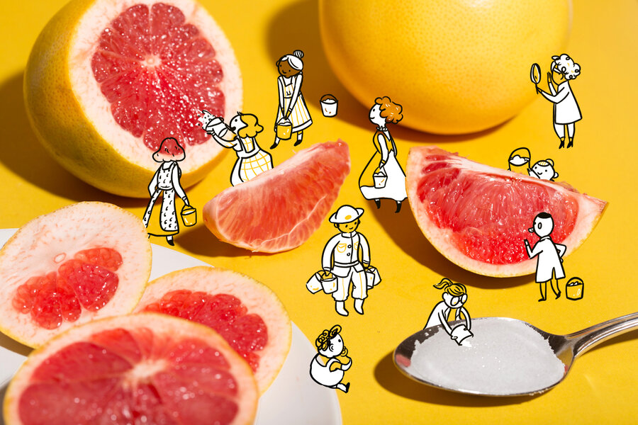 Grapefruit And Salt: The Science Behind This Unlikely Power Couple ...