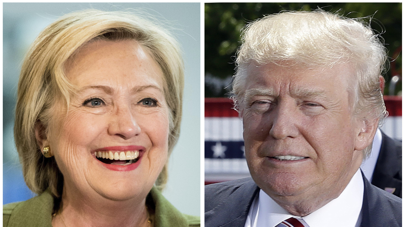 In Closing Ads, Trump Goes Dark While Clinton Goes Cozy