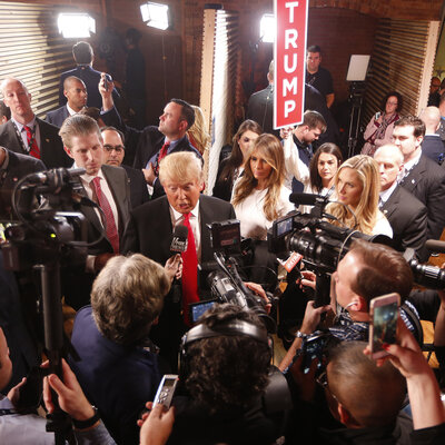 Weary Press Corps Can Celebrate Election's End, Then Survey Wreckage
