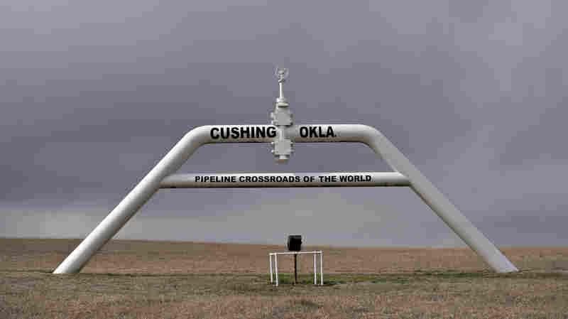 Earthquake Shakes Oklahoma Oil Storage Hub