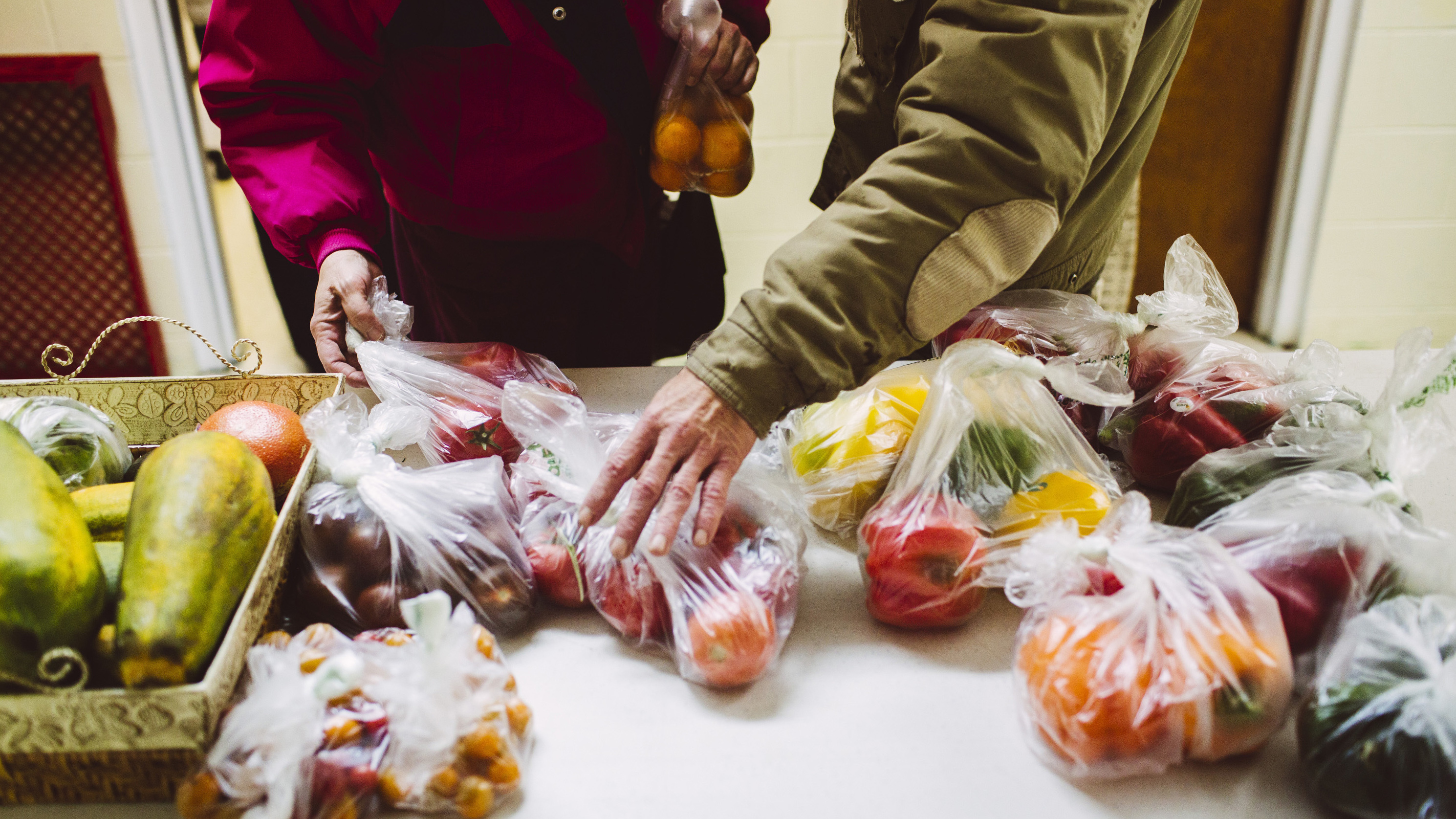 Food Pantries Try Nutritional Nudging To Encourage Good Food Choices