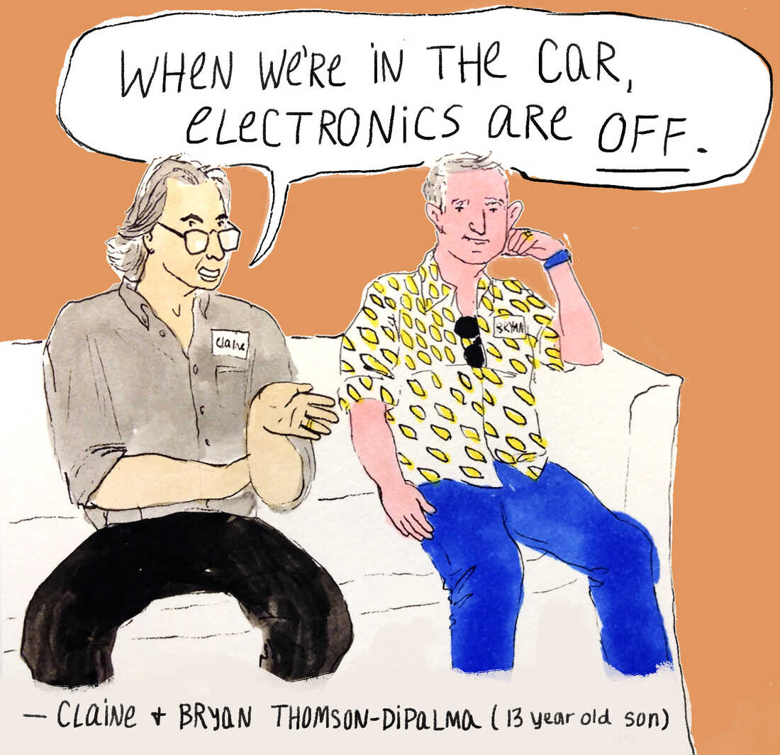 Claine and Bryan Thomson-DiPalma