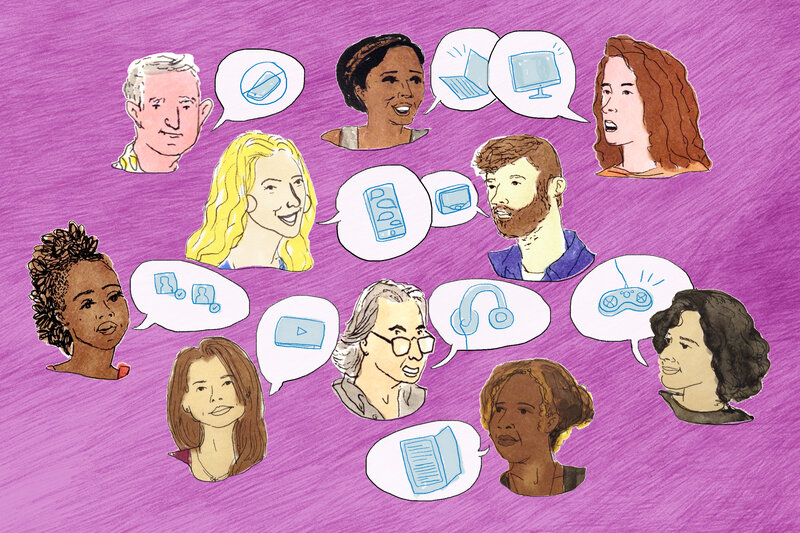 NPR Ed convened a group of parents to talk about how they're coping with the information age.