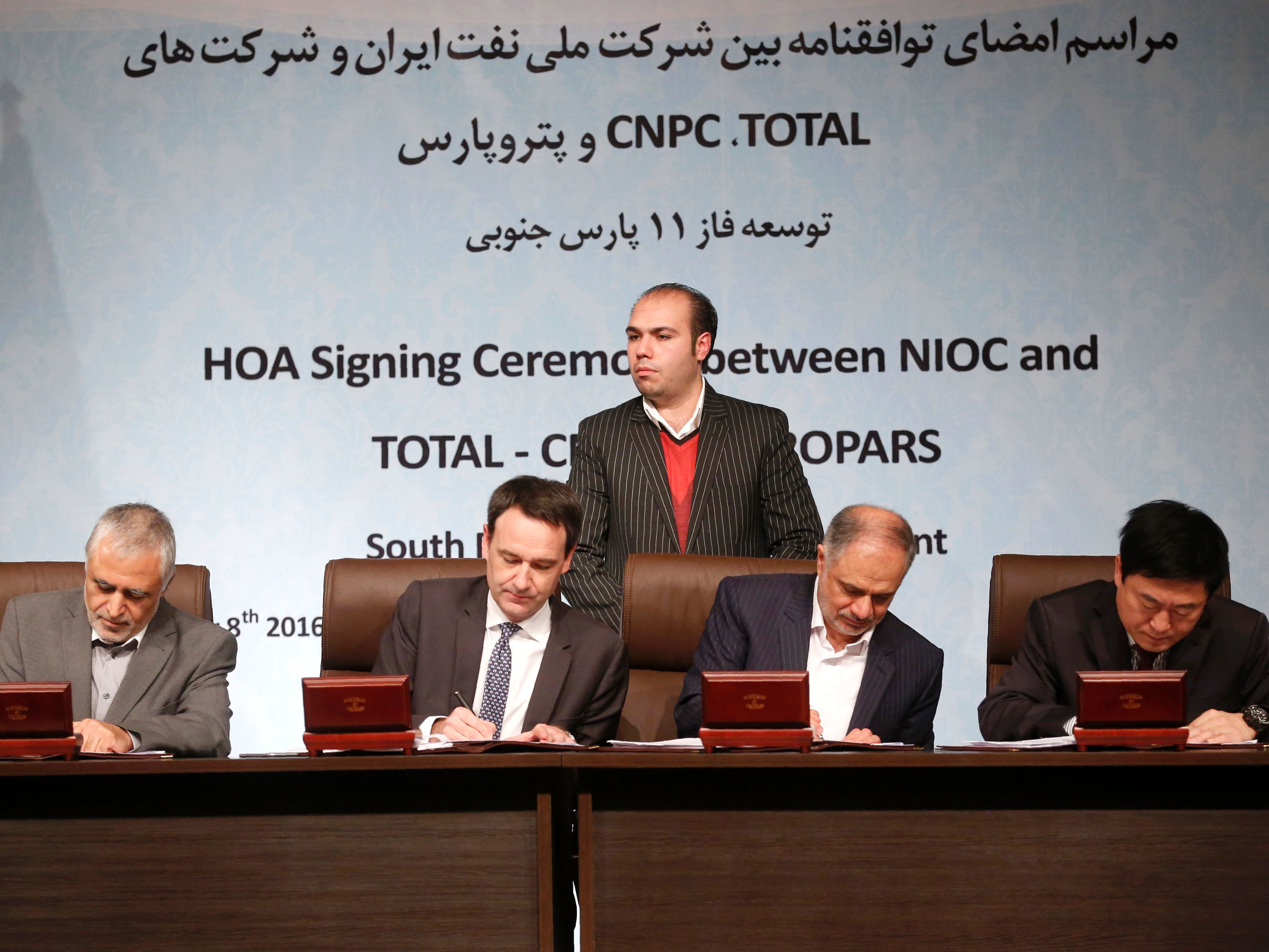 Total signs major Iran gas deal