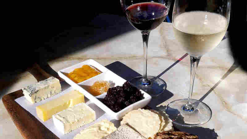 Pairing Wine And Cheese? Science Says White May Be A Better Choice Than Red