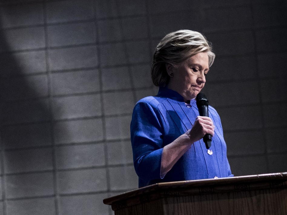 Democratic presidential nominee Hillary Clinton speaks to Florida voters Oct. 30 at a Baptist Church in Miami, Fla. (Melina Mara/The Washington Post via Getty Images)
