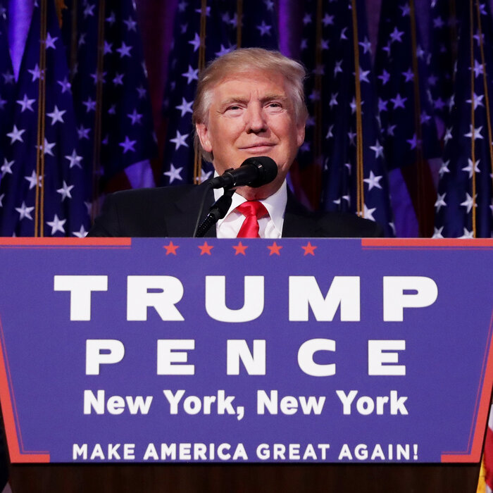 Donald Trump Clinches The Presidency In Major Upset