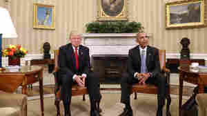 In Meeting At White House, President-Elect Trump Calls Obama 'Very Good Man'