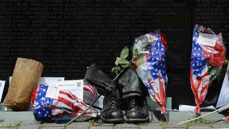 Watcher At The Wall: One Veteran Finds A Lifeline In All That's Left Behind