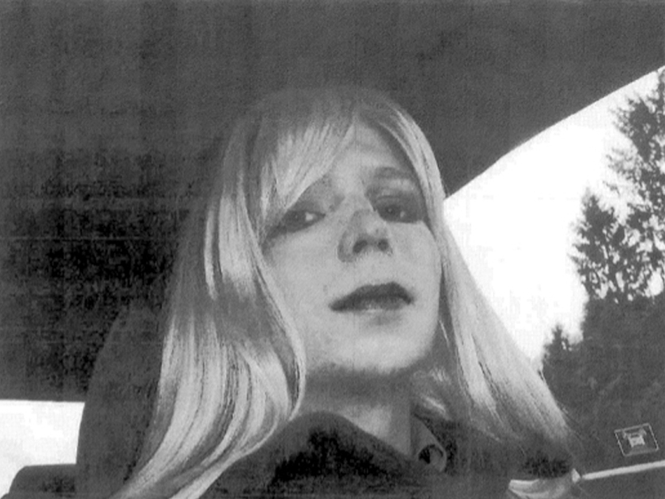 Pfc. Chelsea Manning poses for a photo in 2010. (AP)