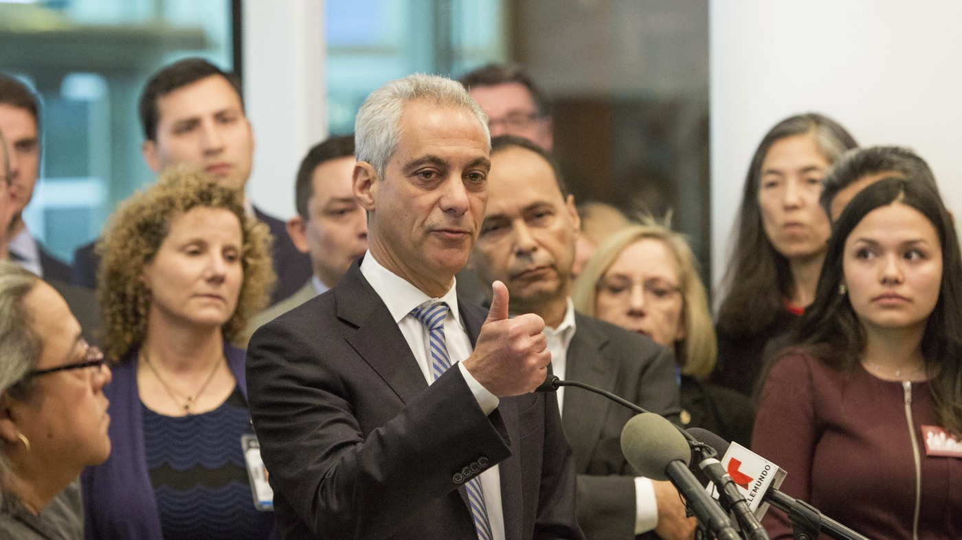 Mayor Rahm Emanuel: 'Chicago Always Will Be A Sanctuary City' : The