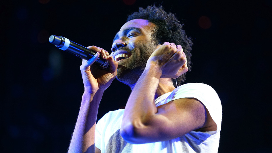 Childish Gambino performs onstage in Anaheim, Ca. in 2014. His new album, Awaken, My Love!, comes out Dec. 2. (Getty Images)
