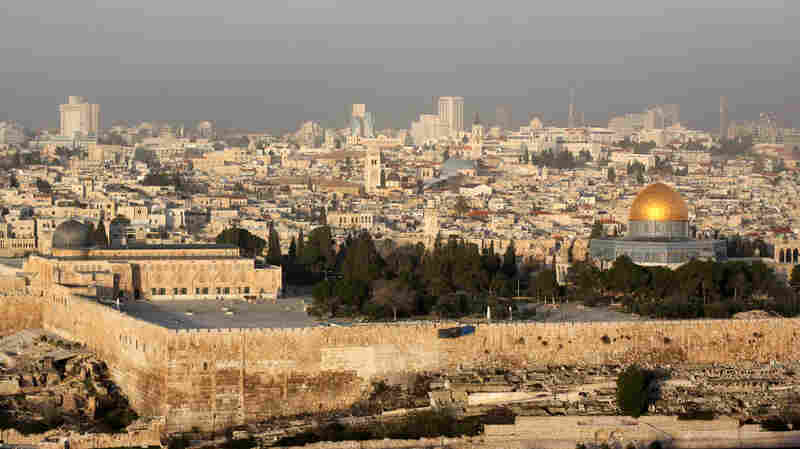 Trump Favors Moving U.S. Embassy To Jerusalem, Despite Backlash Fears