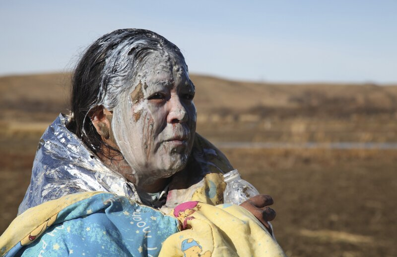 Native Americans At Standing Rock Participate In Centuries Old