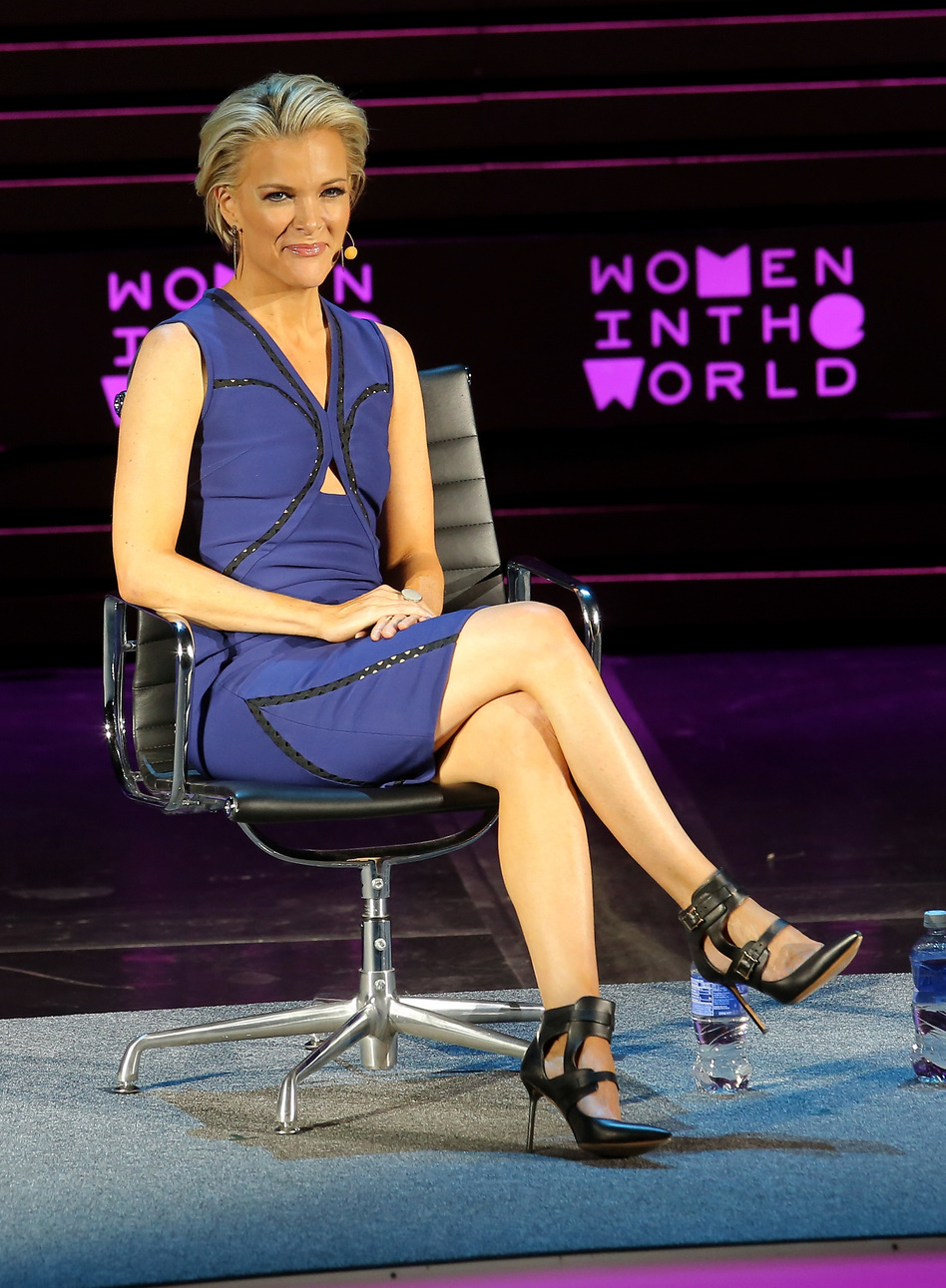 Megyn Kelly speaks onstage at Tina Brown's 7th Annual Women In The World Summit Opening Night on April 6, in New York City. (Jemal Countess/Getty Images)