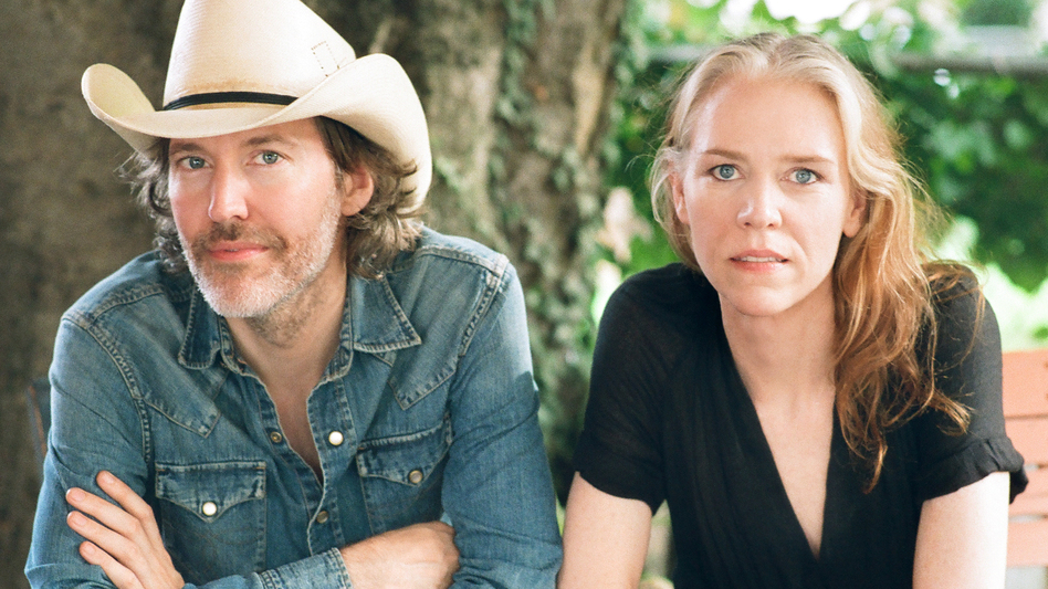 Gillian Welch, pictured here with partner Dave Rawlings, will release a new album, Boots No. 1 The Official Revival Bootleg, on Nov. 25. (Courtesy of the artist)