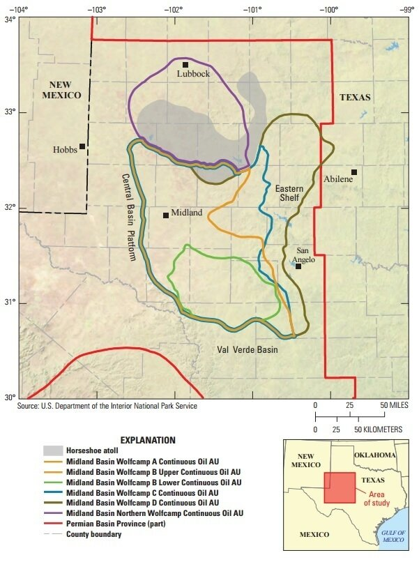 USGS Announces Largest Oil And Gas Deposit Ever Assessed In US