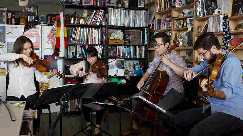 Attacca Quartet: Tiny Desk Concert
