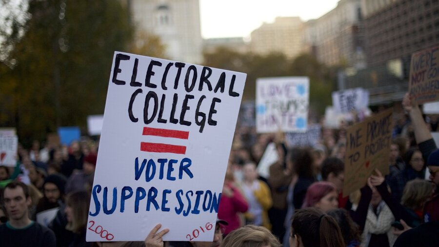 Critics Work To Get Rid Of The Electoral College Npr