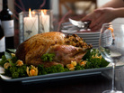 The average cost of Thanksgiving dinner for 10 is $49.87 this year, down from last year's $50.11. One big change: a drop in the price of turkey.
