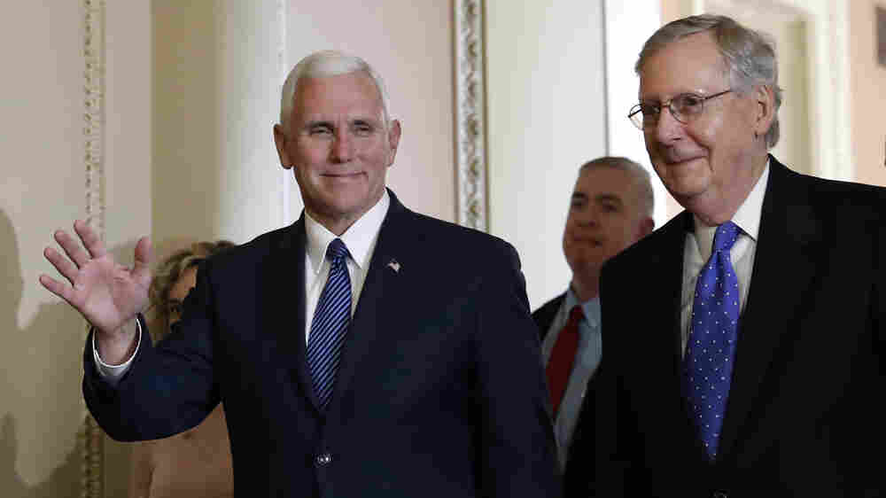 GOP Looks To Pence As Trump's Point Man On Capitol Hill