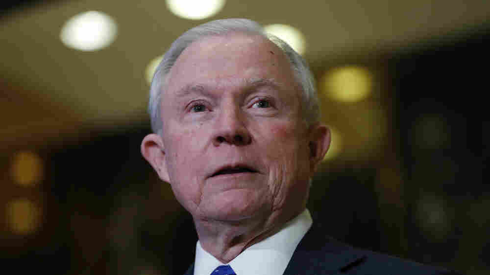 Trump's Pick For Attorney General Known For Hard-Line Immigration Stance