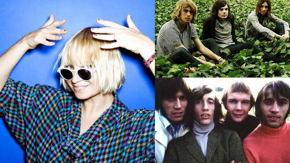Hear Sia (left), Tame Impala (top right) and Bee Gees (bottom right) in this Sense Of Place edition of Weekend LISTening. (All photos courtesy of the artists)