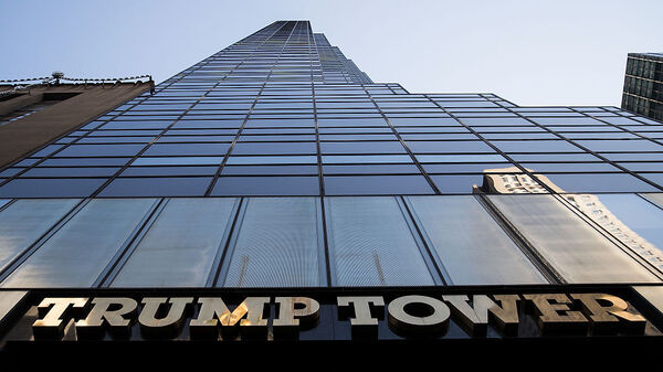 A view of Trump Tower in New York City, where Trump is in the process of choosing his presidential Cabinet.