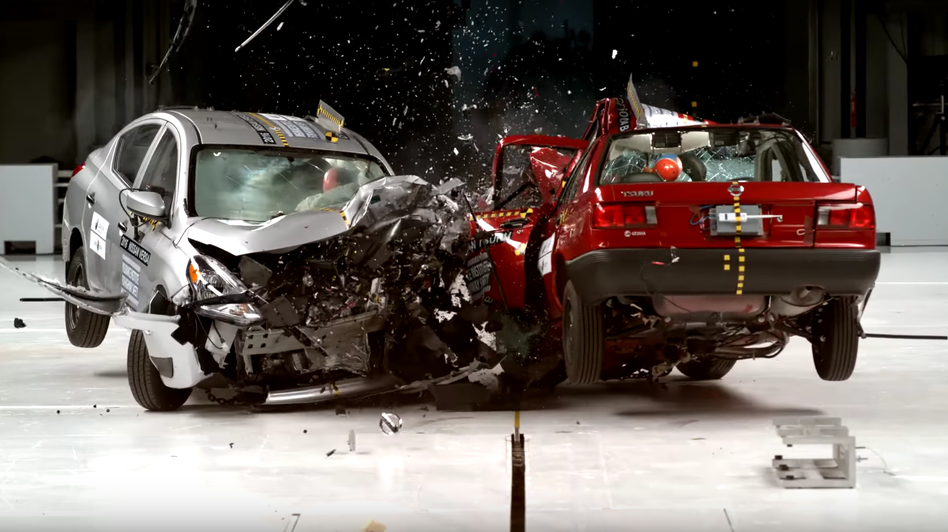 Crash Test Dummies Show The Difference Between Cars In Mexico And