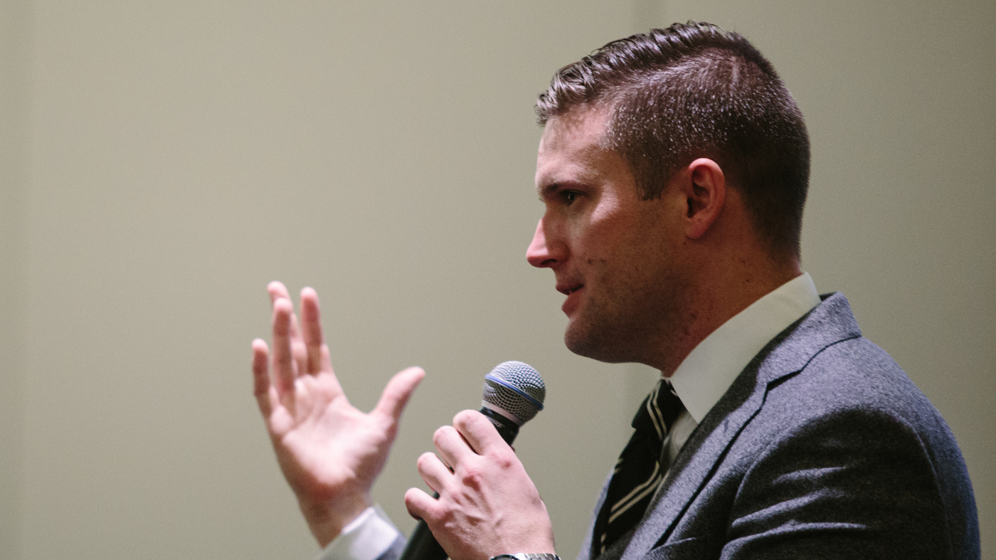 Richard spencer white house - Energized By Trump S Win Alt Right Extremists Gather In Washington To Change The World Npr