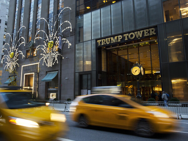 Media executives and anchors from the top five TV networks met with the president-elect at Trump Tower on Monday.