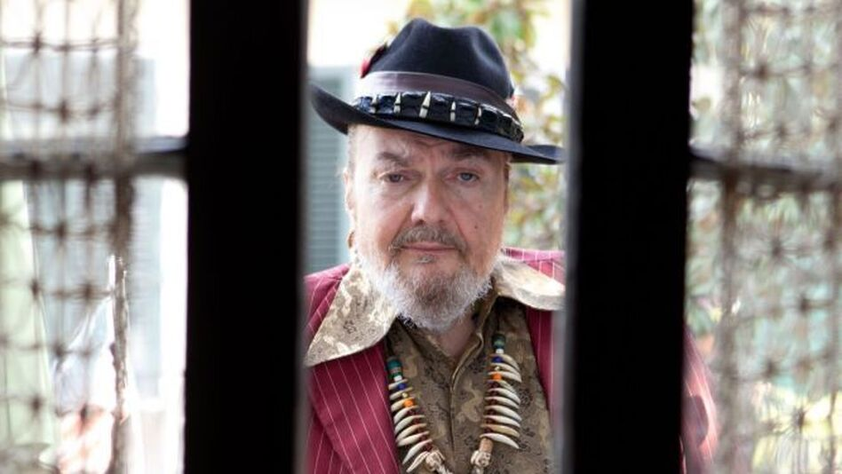 Happy birthday to Mac Rebennack, a.k.a. Dr. John, who turns 76 today. (Courtesy of the artist)