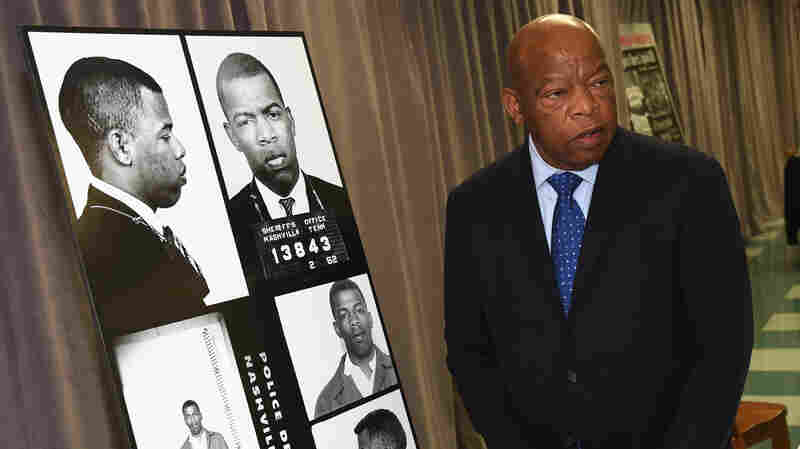 In Nashville, Rep. John Lewis Gets Surprise From His Civil Rights Past