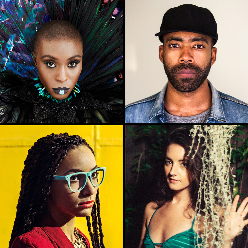 Clockwise from left: Laura Mvula, Corey King, Esperanza Spalding, Michaela Anne. (Courtesy of artists)